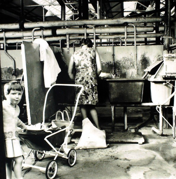 Steamie: Logie Laundry. DC Thomson picture.