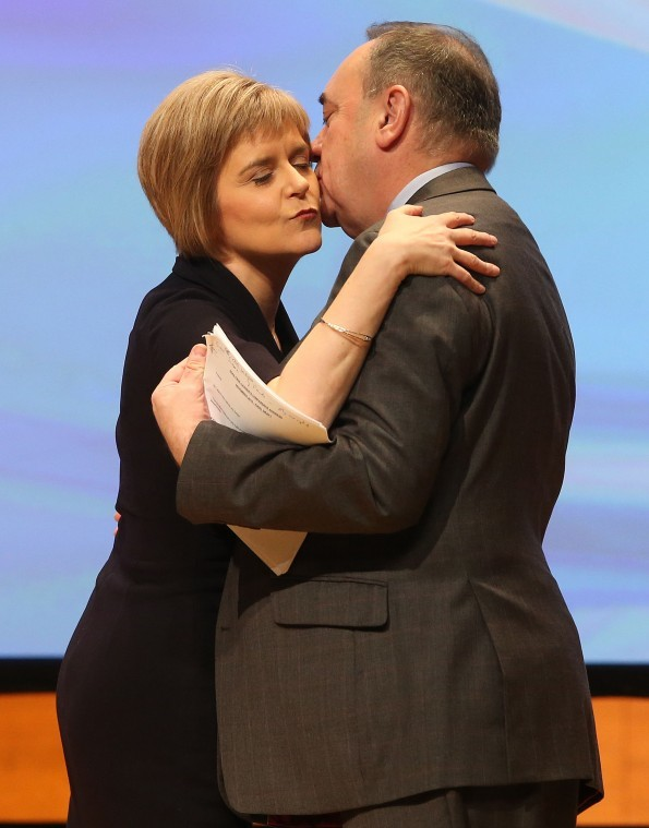 Nicola Sturgeon is announced as the new SNP leader