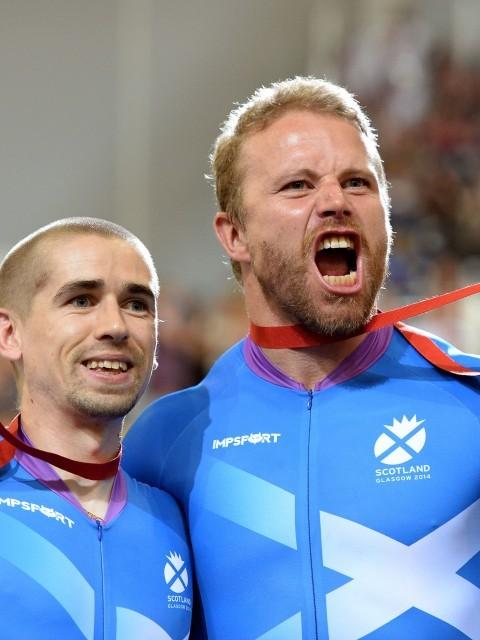 Scotlands Craig Maclean and Neil Fachie (PA Archive)