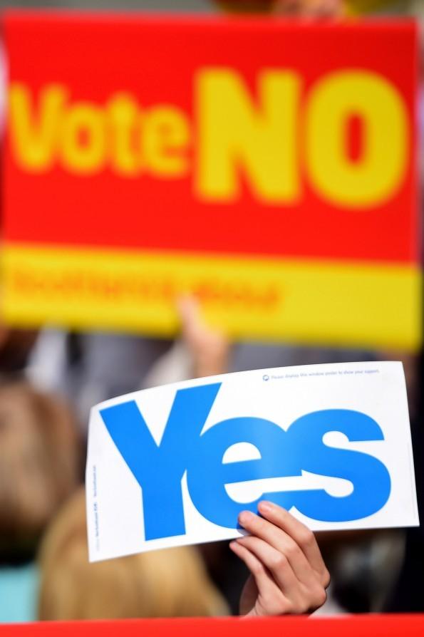 The referendum changed Scottish politics (Jeff J Mitchell/Getty Images)