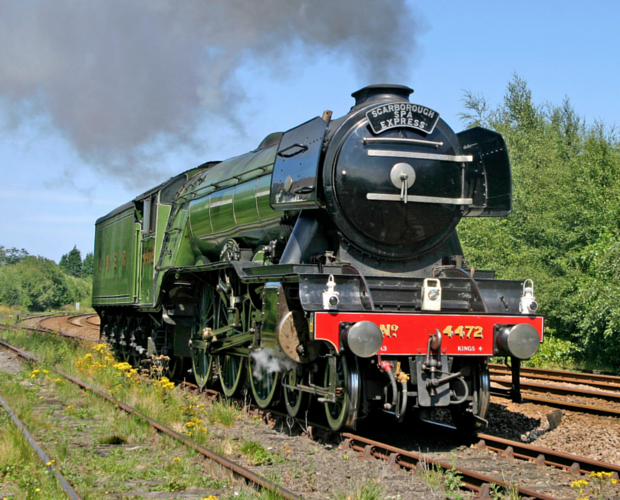 The Flying Scotsman enters service