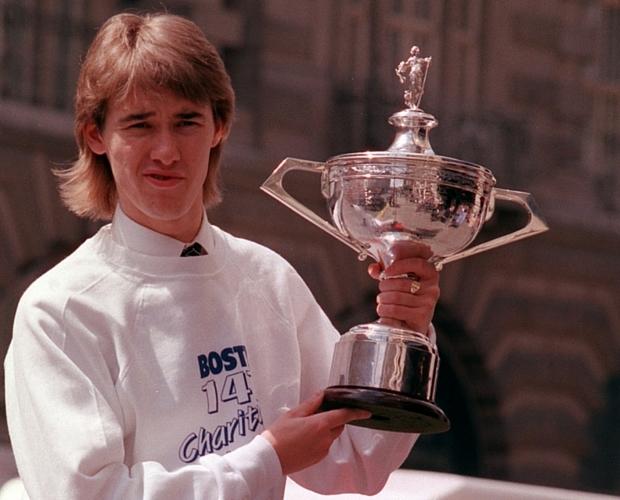 World professional snooker champion Stephen Hendry