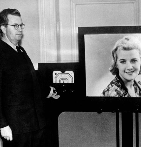 John Logie Baird invents television