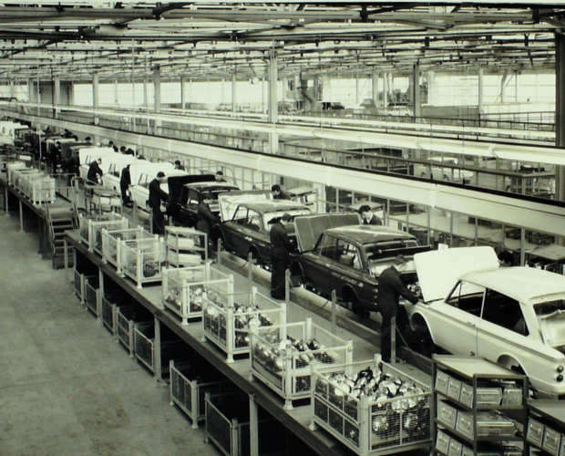 Hillman Production line, Linwood
